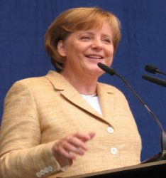 La Chancelière Angela Merkel