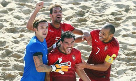 Portugal champion du monde de beach-soccer