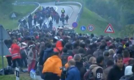 flux de migrants
