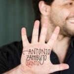 Le chanteur Antonio Zambujo en pleine tournée européenne