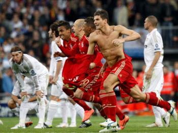 Bayern et Real Madrid