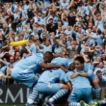 Manchester City champion d'Angleterre