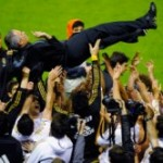 Le Real Madrid champion avec Mourinho