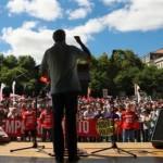 Plusieurs milliers de personnes ont défilé dans les rues de Lisbonne à l'appel de la CGTP