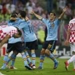 L'Espagne et l'Italie se sont qualifiées pour les quarts de finale de l'Euro-2012
