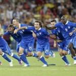 Italie en demi-finales en battant l'Angleterre aux tirs au but