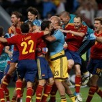 Les espagnols ont atteint leur 3e finale d'affilée grace aux tirs au but