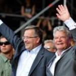 Rock les présidents polonais et allemand inaugurent un Woodstock polonais