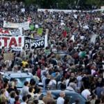 Au Portugal une centaine de milliers de personnes manifestent contre l'austérité