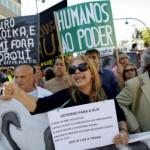 De nouvelles manifestations anti-austérité défilent au Portugal