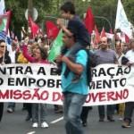 Au Portugal la grogne monte contre l'austérité