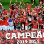 Benfica est champion du Portugal