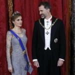 Le roi d'Espagne Felipe VI et son épouse Letizia visitent la France