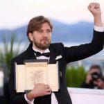 Cannes: un Suédois remporte la Palme d'or à la surprise générale