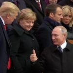 Paris: a l'Elysée, conversation «à bâtons rompus» entre Trump et Poutine
