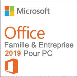 Office 2019 Famille et Petite Entreprise